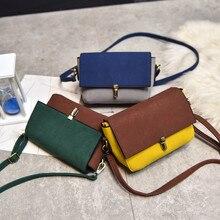 Jasmin Tasche Mode-taschen Patchwork Leder frauen Handtasche Umhängetaschen Dec5