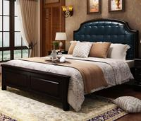 Luxury Beautiful Solid Wood Bed 1.5/1.8m
