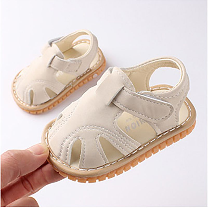 Hot Sale Summer Baby Boys Girls Sandals Breathable Anti-Slip Lovely Newborn Soft Pre-walking Shoes 2019 New-arrival Baby Shoes