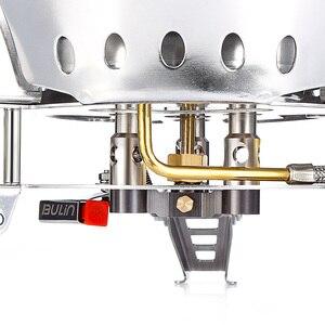 Image 4 - BULin BL100 B17 חיצוני קמפינג גדול כוח גז תנור Windproof נייד פיצול גז מבער עבור חיצוני בישול מנגל קמפינג טיולים