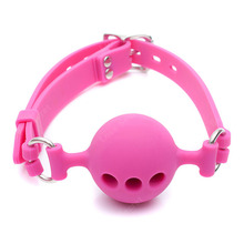 38mm Silicone Open Mouth Ball Gag