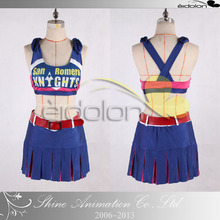 2016 Game Lollipop Chainsaw Juliet Starling Cosplay Costume For Christmas Halloween