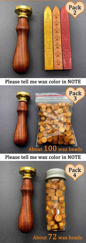Sealing Wax Stamp,The Myth of Star and Moon Wax Seal Stamp,Mermaid Stamp,Invitation Birthday Wax Seal Kit,Wax Sealing Melting Stove Spoon