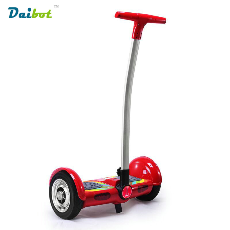 2 wheels standing electric scooter with handrail Smart Motorcycle self balancing electric scooter Drift Bluetooth hoverboard