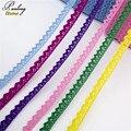 Дешевые 5yds 15 мм широкий чистый хлопок гипюр кружево планки ленты ткани diy швейные свадебный цветок луки аксессуары Декор для одежда