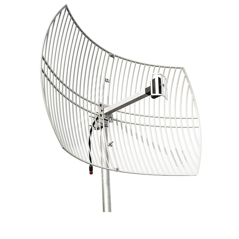 Ultra Long Range WiFi Extender Directional Parabolic Grid (High-Speed Signal Booster) Outdoor Antenna 2.4g High Gain