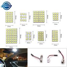 1setsX Led Панель 6/9/12/15/18/24/36/48 SMD 5050 T10 Ba9s c5w адаптер Festoon Dome чтение светильник аксессуары для авто двигатель DC12V