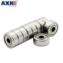 AXK 10 шт./лот 624 624Z 624ZZ шарикоподшипник 4*13*5 мм хромированный стальной подшипник