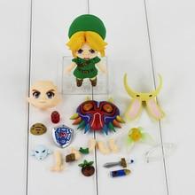 10cm The Legend of Zelda Link 553 Majora's Mask 3D Ver PVC Figure Action Model Toys Doll Gifts For Children