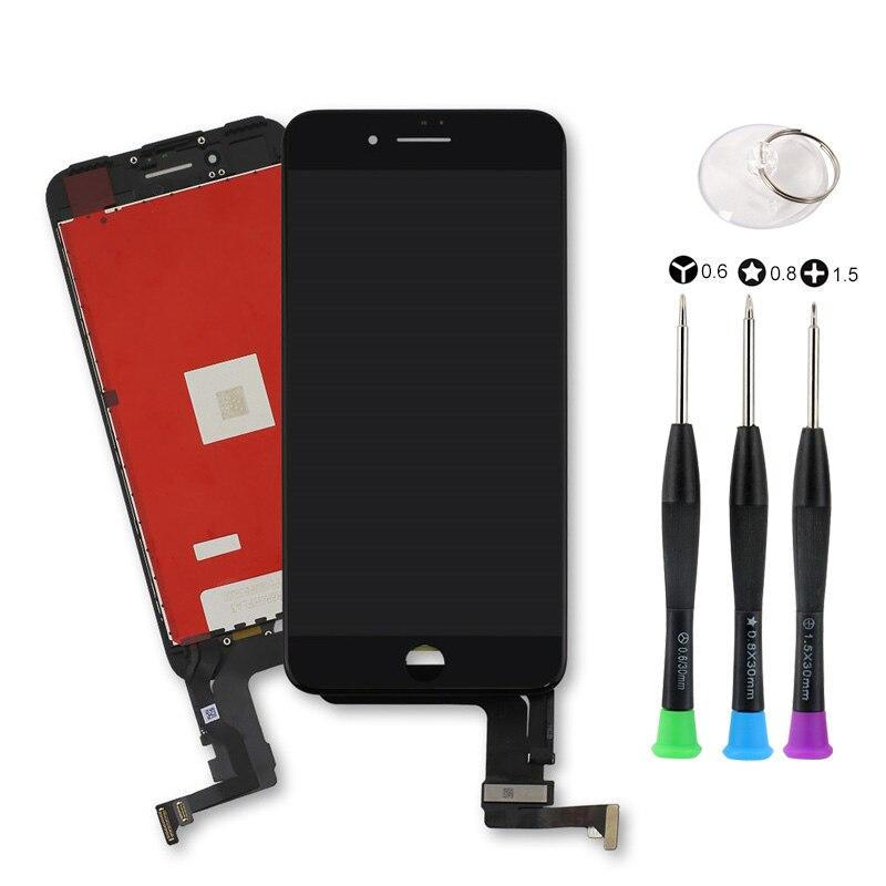 10 pièces Tianma LCD affichage pour iPhone 7 7 P 8 8 Plus avec écran tactile numériseur assemblage tr outils ouverts pas de Pixel mort
