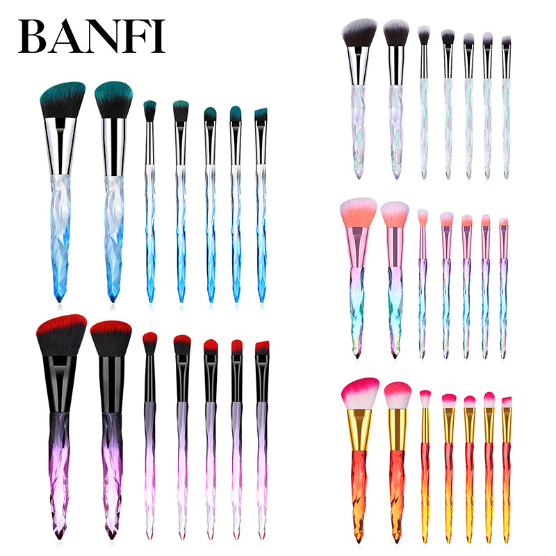 Makeup Brushes Professional 7pcs/set Tools Set Make Up High Quality Face