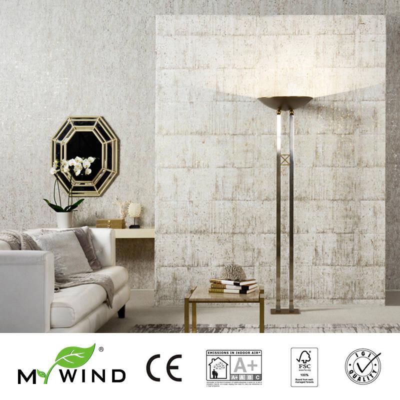 2019 MEU VENTO Textura cinza Luxo Bom gosto Wallpapers Luxo 100% Natural Material de Segurança e Inocuidade 3D Papel De Parede Em Rolo Decoração - 3