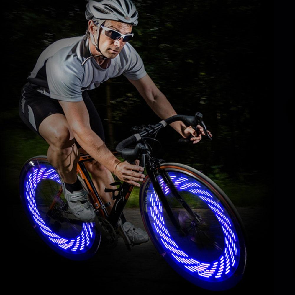 1*LED Fahrrad Speichenlicht Rad Reifen Licht Lampe Leuchte Wasserdicht Hub Light