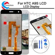 שחור/לבן 5.0 אינץ החלפת חלקי תיקון עבור HTC אחד A9S LCD תצוגת מסך מגע Digitizer עצרת עבור HTC a9S LCD + כלי