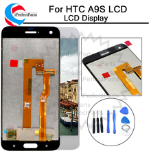 Zwart/Wit 5.0 inch Vervanging Reparatie Onderdelen Voor HTC Een A9S Lcd Touch Screen Digitizer Vergadering Voor HTC a9S LCD + tool