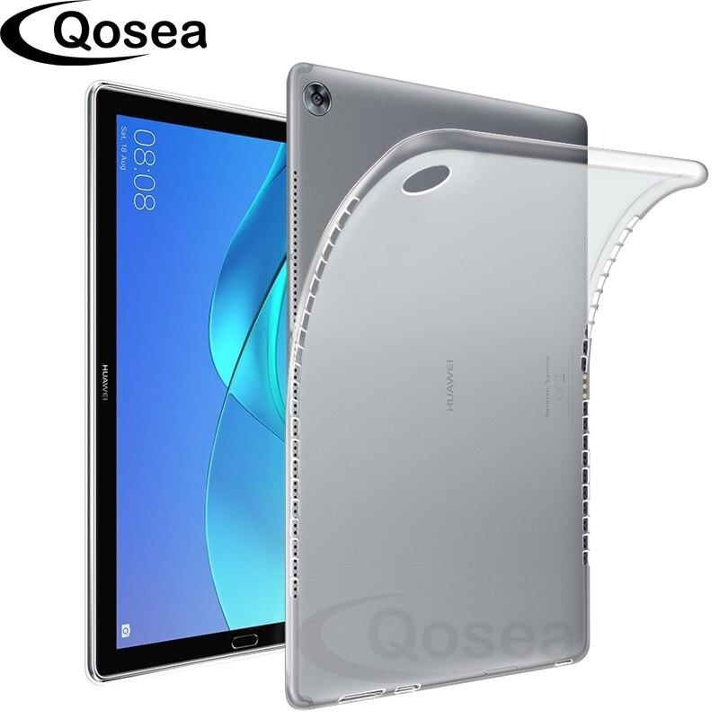 Angemessen Qosea Für Huawei Mediapad M5 10,8 Fall Tablet Pc Anti-knock Dünne Silikon Weiche Tpu Mediapad M5 8,4 Transparent Schutzhülle
