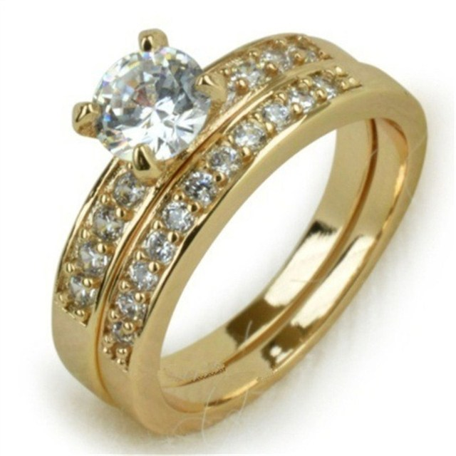 Classic Engagement Ring for Couples