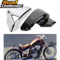 Black Battery Cover Side Fairing Motorcycle For Honda VLX 600 1999 2008 VT 600 C CD Shadow VLX Deluxe STEED400 1999 2007