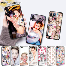 WEBBEDEPP Miley Cyrus Soft Rubber Silicone Case for Xiaomi Redmi 4A 4X 5A 5 Plus S2 6 6A 7 7A K20 Pro Go