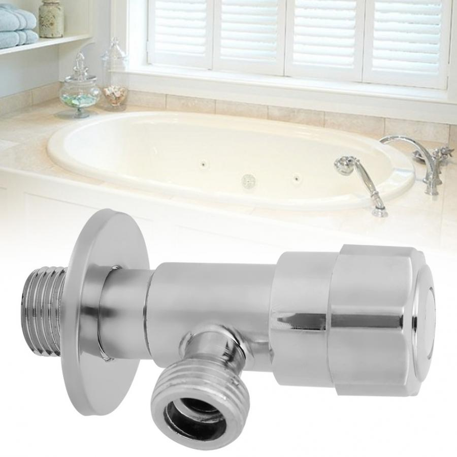 Water Shut Off valve Angle Filling Valves Water Bathroom Kitchen Faucet Angle Valve G1/2