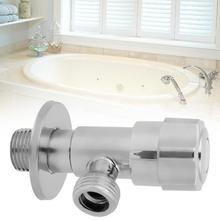 цены Water Shut Off valve Angle Filling Valves Water Bathroom Kitchen Faucet Angle Valve G1/2