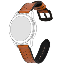 лучшая цена BEAFIRY 20mm 22mm Leather+Silicone Rubber Watch Band For Men Women Quick Release Watch Straps for fossil Watchbands Waterproof