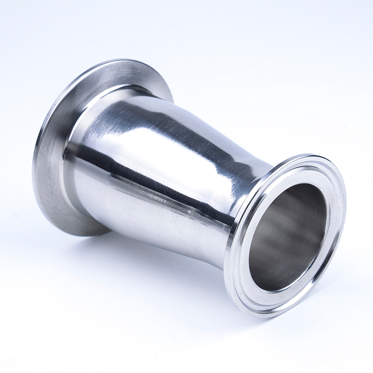 PELLER 304 Stainless Steel OD 1-1//4 to 3//4 Tri Clamp Reducer Ferrule Sanitary Fitting for Homebrew