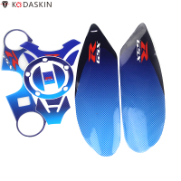 KODASKIN Front Upper Top Clamp Gas Cap Tank Pad Decal Stickers for Suzuki GSXR600 GSXR750 GSXR1000 K6 K7 K8 K9 L1 2006 2017