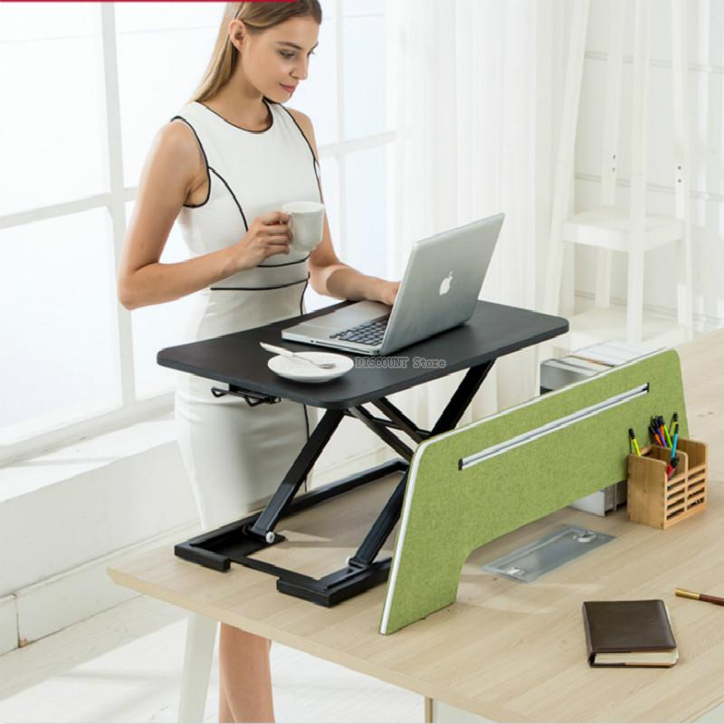 Stand Up Computer Lift Table Foldable