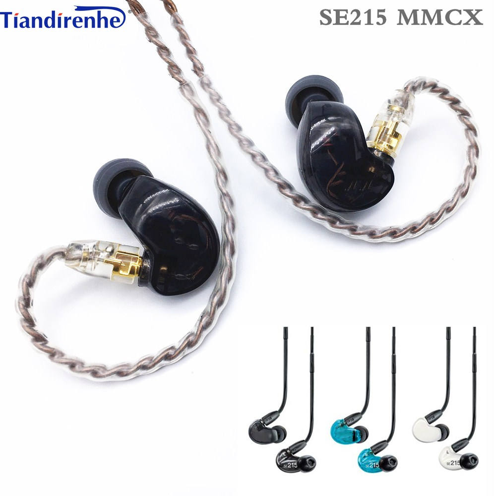 Fast shipping! SE215 Hi-fi stereo Noise Canceling 3.5MM mmcx SE 215 In ear Earphones With Separate Cable headset Subwoofer ship in 48 hours se215 hi fi stereo noise canceling 3 5mm se 215 in ear earphones with separate cable headset with box vs se535