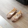 2017 Весна New Kids Shoes Для Девочки Мода Яркий Rhinestone плоским Принцесса Shoes Мило Лук ИСКУССТВЕННАЯ Кожа Детей Shoes Girls Shoes