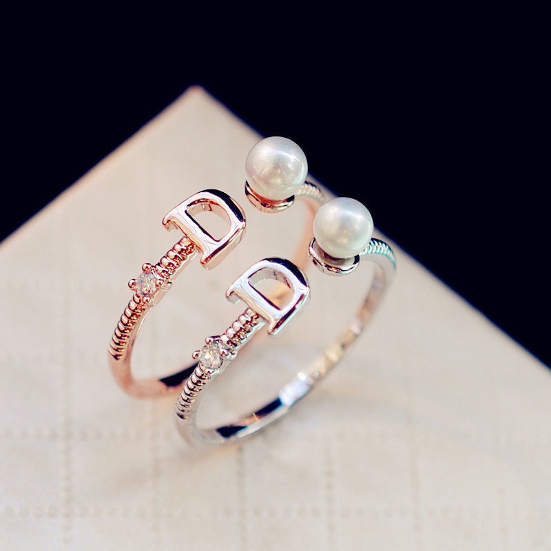 r2 anillos mujer bague pearl de marque luxe femme bijoux famous brand kpop jewellery jewelry. Black Bedroom Furniture Sets. Home Design Ideas