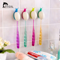 FHEAL Colorful Snail Suction Cup Toothbrush Holder Bathroom Accessories Sucker Wall Toothbrush Rack