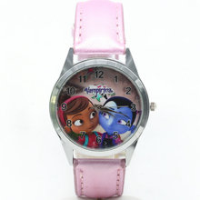 2018 hot selling children cute dial quartz watch Vampirina Girl Cartoon Birthday Party Gift for kids watch