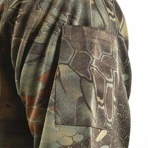 Image 3 - Mege מותג בגדי גברים של חולצות טקטי הסוואה פולו חולצה קיץ מזדמן בגדים עם תיקוני טיפון מרובה מהיר יבש