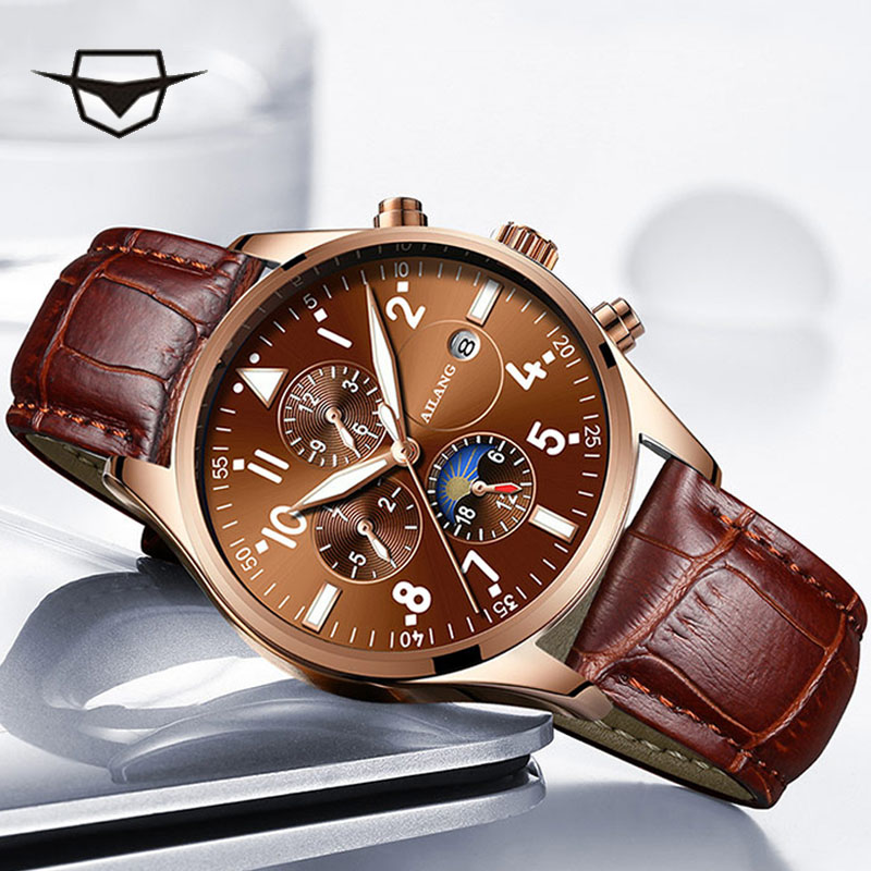 2019 The latest design of the multi-function gear sport diving watch movements leisure fashion mens wrist watch men Automatic 2019 The latest design of the multi-function gear sport diving watch movements leisure fashion mens wrist watch men Automatic