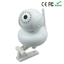 New 720P HD TF SD Card IR Cut Indoor White Security IP Internet Camera Dual Audio Wireless Webcam Pan Tilt Baby Monitor P2P