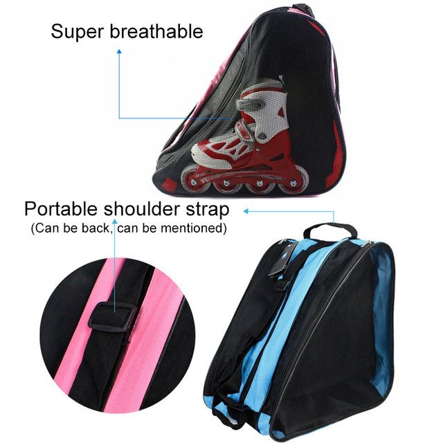 Women's Floral Printed Bag for Roller Skates