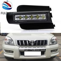 Super Bright Dimmer Car Lights DRL LED Daytime Running Lights 12V Front Fog Lamp For Toyota