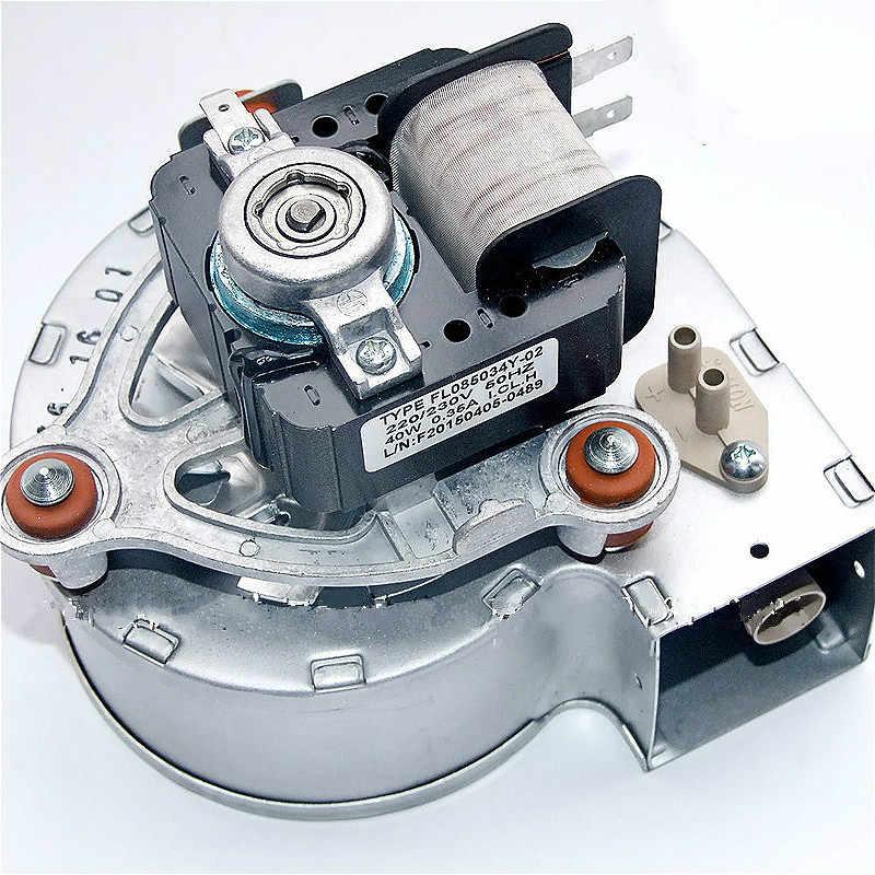 Fuel Gas Boiler High Temperature Resistant Blower Fan 220vac