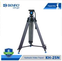 Benro KH25N Professional Twin Leg Video Tripod Kit Stand With Pan Video Head