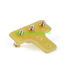 6pcs Terminal Tag Board Turret Strip 3Lugs Audio Guitar Tube Amplifier Parts