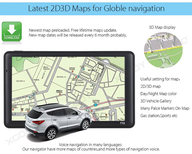 Touch Screen GPS (3)
