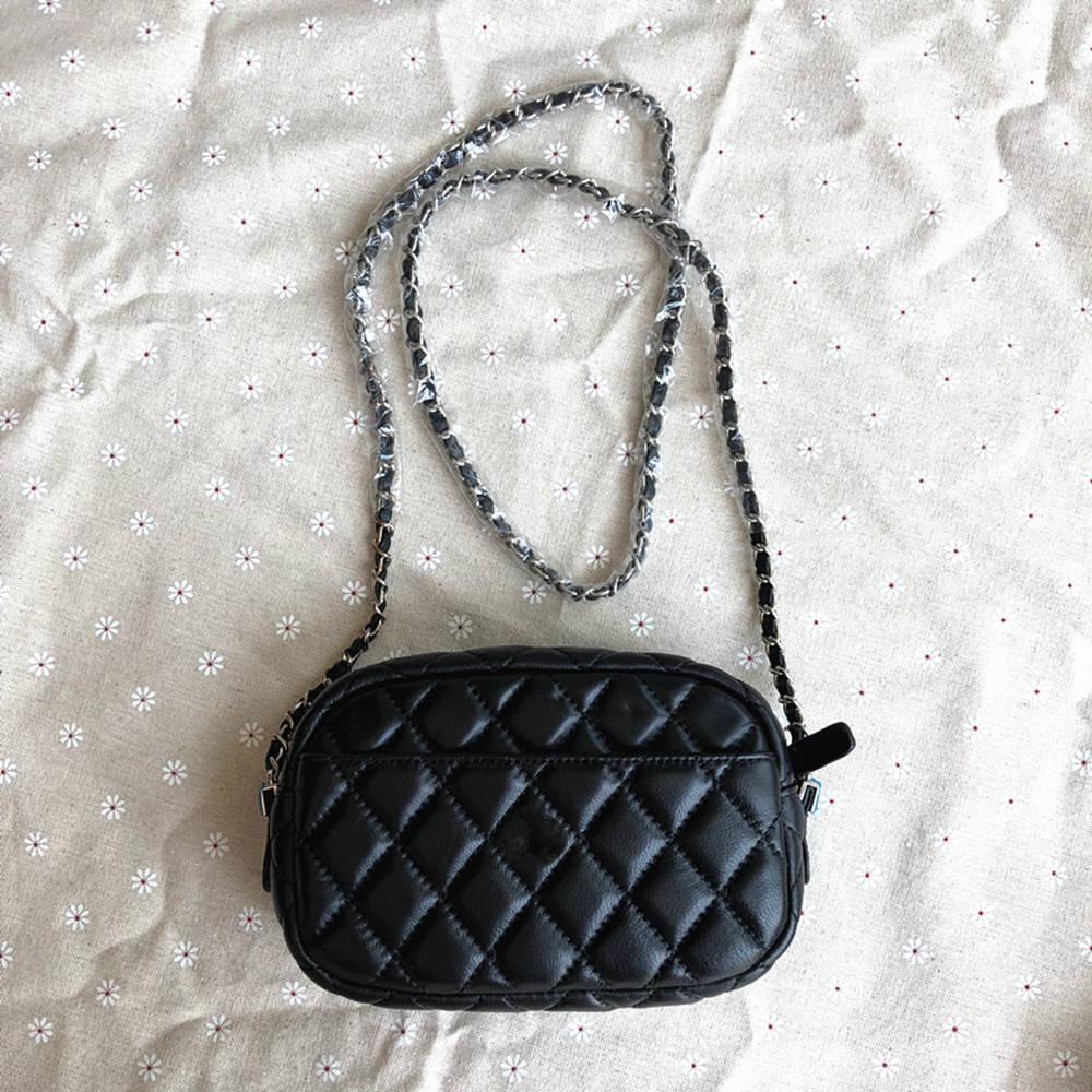 Esbear Hot Women Lambskin handbag High Quality Sliver Chain Shoulder Bags  For Patry Crossbody Bag Small Flap Shopping Handbags -in Shoulder Bags from  ... 7bc55c7db98d6