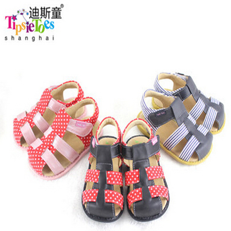 Tipsietoes  2020 Girls Sandals Fashion Baby Shoes  Soft Breathable Cool Comfortable Kids Children Male 21032 Leather Casual