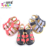 Tipsietoes Brand 2016 Sheepskin Shoes Sandals Soft Breathable Cool Comfortable Kids And Children Shoes Male 21032