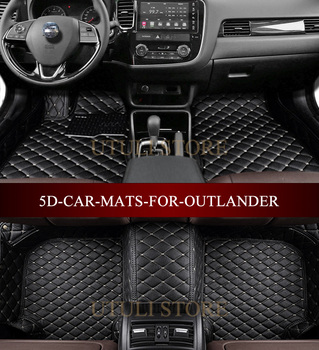 Leather Car floor mats for Ford-Mustang 2011-2017 3D custom fit car styling all weather carpet floor liners foot mats