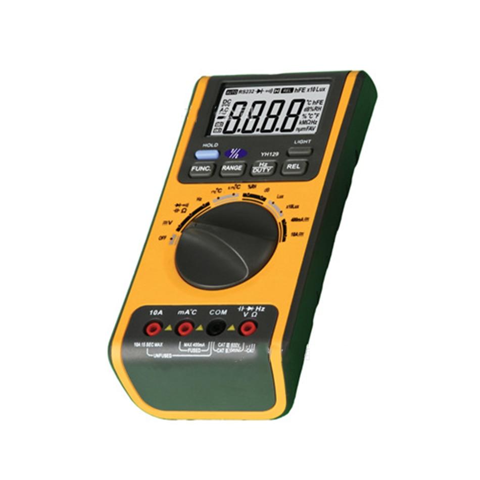 цена YH129 Digital Multimeter Multifunctional Environmental Test Multimeter