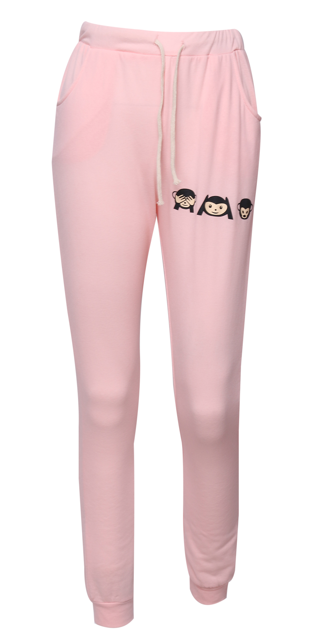 Damen hose pink
