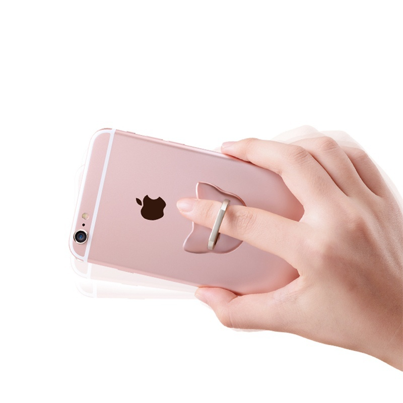 Universal Finger Ring Mobile Phone Smart Stand Holder Mount Support for IPhone IPad Xiaomi Huawei Samsung All Smart Phone